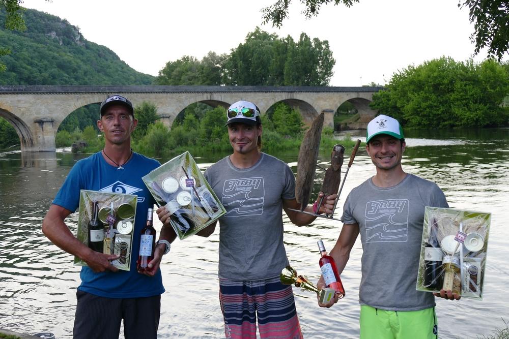 Dordogne intégrale 2017 - Le podium messieurs