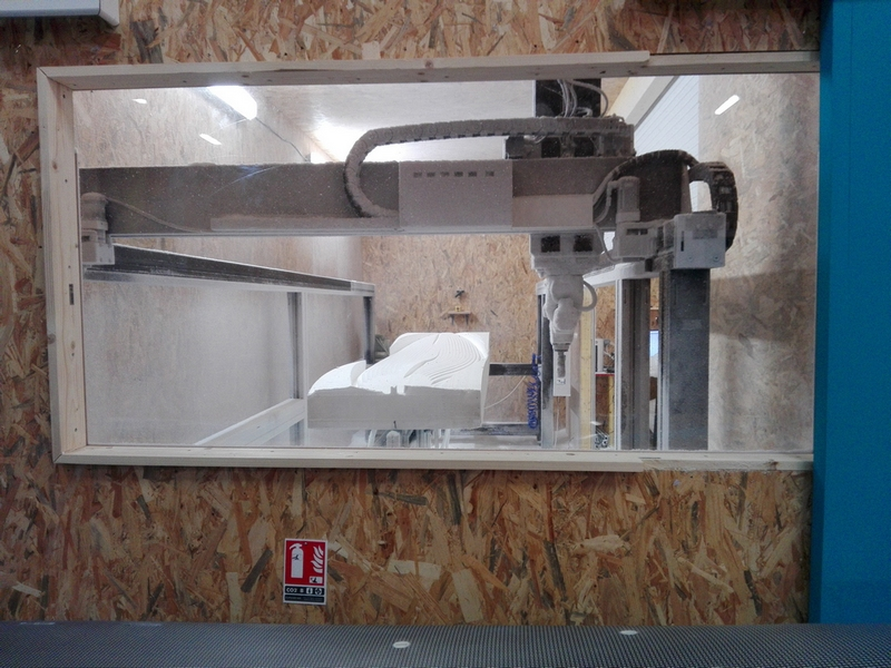 CNC Preshape Machine KMS 5 axes 18'