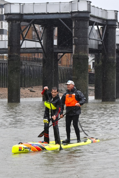 LONDON SUP CROSSING